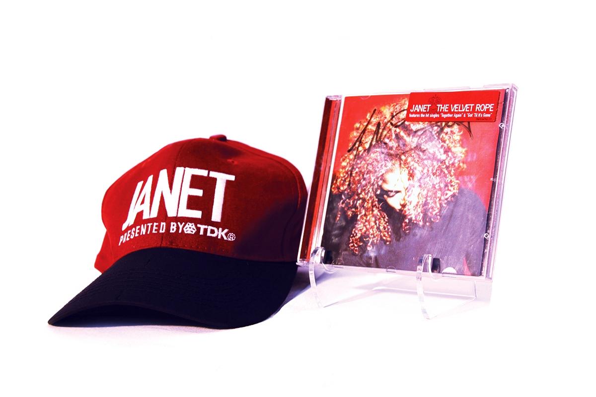 Janet Jackson - The Velvet Rope Tour fr,en - Ritilux Business Gifts